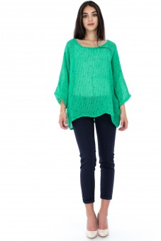 Bluza  verde, ROH, oversize - BR1858