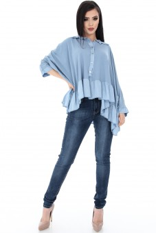 Bluza Albastra Oversize Clb206