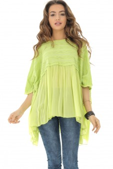 Bluza oversize, lime, ROH - BR2115