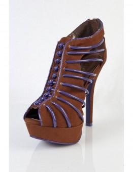 Pantofi Maro Cu Albastru Sigma-blw